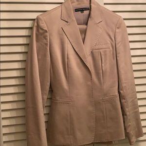 Cotton and nylon pant suit